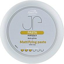 Parfüm, Parfüméria, kozmetikum Mattító hajformázó paszta fehér agyaggal - Joanna Professiona Mattifying Paste