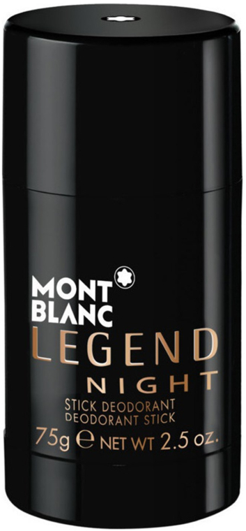 Montblanc Legend Night Stick - Dezodor
