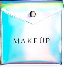 Parfüm, Parfüméria, kozmetikum Neszeszer «Holographic», 12x12cm, átlátszó - MakeUp