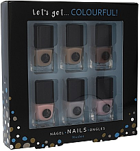 Parfüm, Parfüméria, kozmetikum Készlet - Cosmetic 2K Let'S Get Colourful! Nudes Nail Polish (nail/laquer/6x5ml)