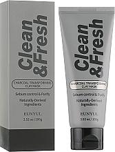 Parfüm, Parfüméria, kozmetikum Agyag maszk-transzformátor szénnel - Eunyul Clean & Fresh Charcoal Transforming Clay Mask