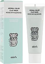 Parfüm, Parfüméria, kozmetikum Tisztító agyagmaszk - Skin79 Animal Color Clay Mask Mouse With Blemishes