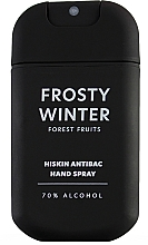 """Parfüm, Parfüméria, kozmetikum Kézfertőtlenítő spray """"Erdei bogyók"""" - HiSkin Antibac Hand Spray Frosty Winter"""
