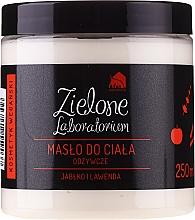 Parfüm, Parfüméria, kozmetikum Alma és levendula tápláló testolaj - Zielone Laboratorium