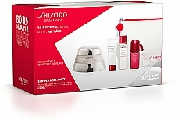 Parfüm, Parfüméria, kozmetikum Készlet - Shiseido Bio-Performance Time Fighting Ritual (cr/50ml + conc/10ml + foam/15ml + softner/30ml + conc/3ml + bag)