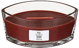 Parfüm, Parfüméria, kozmetikum Illatosított gyertya pohárban - Woodwick Hearthwick Flame Ellipse Candle Redwood