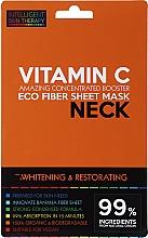 Parfüm, Parfüméria, kozmetikum Express maszk nyakra - Beauty Face IST Whitening & Restorating Neck Mask Vitamin C