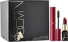Parfüm, Parfüméria, kozmetikum Készlet - Nars Studio 54 Set (mascara/6ml + lipstick/1.6g)