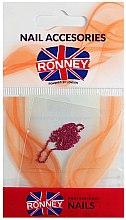 Parfüm, Parfüméria, kozmetikum Körömdíszítő lánc, 00378, arany-rózsaszín - Ronney Professional