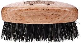 Parfüm, Parfüméria, kozmetikum Fa szakállkefe természetes sörtékkel, világos - Ronney Professional Barber Small Brush