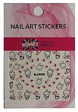 Parfüm, Parfüméria, kozmetikum Körömdíszítő matricák - Ronney Professional Nail Art Stickers