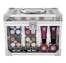 Parfüm, Parfüméria, kozmetikum Sminkkészlet - Makeup Trading Crystal Beauty Train Case Transparent