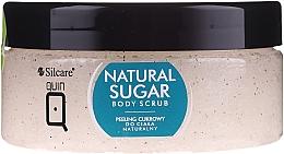Parfüm, Parfüméria, kozmetikum Természetes cukorpeeling testre - Silcare Quin Natural Sugar Body Scrub