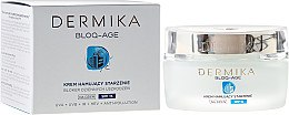Parfüm, Parfüméria, kozmetikum Nappali arckrém - Dermika Bloq-Age Anti-Ageing Cream SPF15