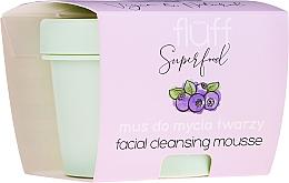 Parfüm, Parfüméria, kozmetikum Arctisztító mousse - Fluff Facial Cleansing Mousse Wild Blueberry