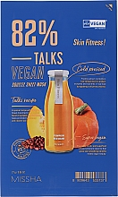 Parfüm, Parfüméria, kozmetikum Szövetmaszk - Missha Talks Vegan Squeeze Sheet Mask Skin Fitness