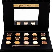 Parfüm, Parfüméria, kozmetikum Szemhéjfesték paletta - Cosmetic 2K Polygon Eyeshadow Palette