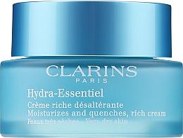 Parfüm, Parfüméria, kozmetikum Hidratáló krém száraz bőrre - Clarins Hydra-Essentiel Rich Cream