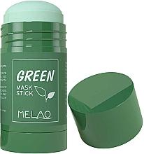 Parfüm, Parfüméria, kozmetikum Maszk-stift organikus agyaggal és zöld teával - Melao Green Tea Purifying Clay Stick Mask
