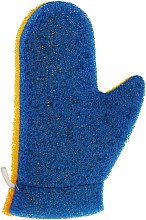 """Parfüm, Parfüméria, kozmetikum Masszázs fürdőkesztyű """"Aqua"""", 6021, kék-sárga - Donegal Aqua Massage Glove"""