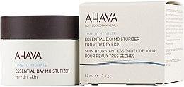 Parfüm, Parfüméria, kozmetikum Hidratáló krém száraz bőrre - Ahava Time To Hydrate Essential Day Moisturizer Very Dry Skin