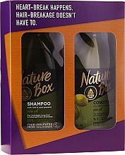 Parfüm, Parfüméria, kozmetikum Szett - Nature Box Olive Oil Set (shmp/385ml + cond/385ml)