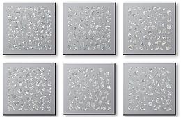 Parfüm, Parfüméria, kozmetikum Körömmatrica szett 42744 - Top Choice Nail Decorations Stickers Set