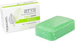 """Parfüm, Parfüméria, kozmetikum Szappan """"Szantálfa"""" - Styx Naturcosmetic Basic Soap With Tea Tree Oil"""