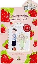 Parfüm, Parfüméria, kozmetikum Szövetmaszk eper kivonattal - Sally's Box Loverecipe Strawberry Mask
