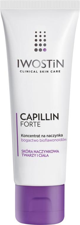 Koncentrátum bőrpír ellen - Iwostin Capillin Forte Concentrate