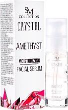Parfüm, Parfüméria, kozmetikum Természetes gél-arcszérum - SM Collection Crystal Amethyst Moisturizing Face Serum