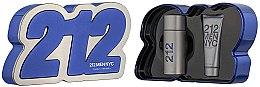 Parfüm, Parfüméria, kozmetikum Carolina Herrera 212 Men NYC - Szett (edt/100ml + sh/gel100ml)