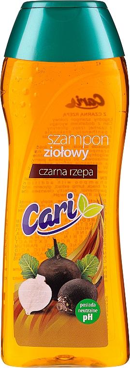 Gyógynövény sampon fekete retekkel - Cari Shampoo