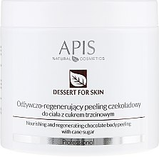 Parfüm, Parfüméria, kozmetikum Testradír - APIS Professional Dessert For Skin Nourishing And Regenerating Chocolate Body Peeling