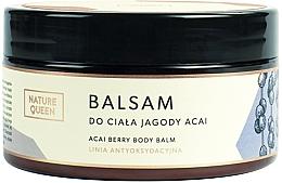 """Parfüm, Parfüméria, kozmetikum Testápoló balzsam """"Acai Bogyó"""" - Nature Queen Body Balm"""