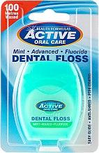 Parfüm, Parfüméria, kozmetikum Fogselyem mentával és flourral - Beauty Formulas Active Oral Care Dental Floss Mint Waxed + Fluor 100m