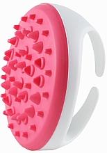 Parfüm, Parfüméria, kozmetikum Narancsbőr elleni szilikon masszázs kefe,fehér-rózsaszín - Deni Carte