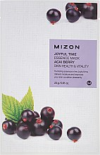 Parfüm, Parfüméria, kozmetikum Szövetmaszk acai bogyó kivonattal - Mizon Joyful Time Essence Mask Acai Berry