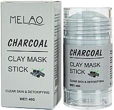 "Parfüm, Parfüméria, kozmetikum Maszk stift arcra ""Charcoal""  - Melao Charcoal Clay Mask Stick"