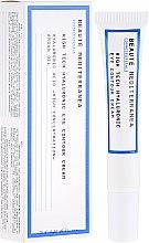Parfüm, Parfüméria, kozmetikum Szemhéjkrém hialuronsavval - Beaute Mediterranea High Tech Hyaluronic Eye Contour Cream