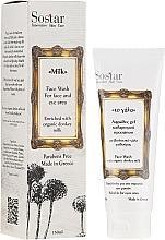 Parfüm, Parfüméria, kozmetikum Arctisztító hab - Sostar Face Wash with Donkey Milk