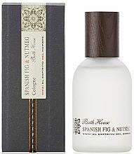Parfüm, Parfüméria, kozmetikum Bath House Spanish Fig and Nutmeg - Eau De Cologne