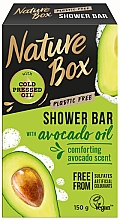 Parfüm, Parfüméria, kozmetikum Természetes szilárd szappan - Nature Box Avocado Oil Shower Bar