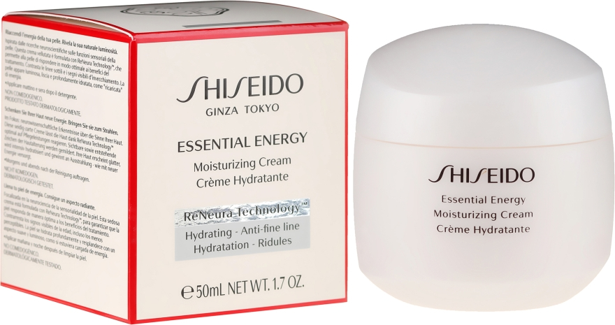 Hidratáló arckrém - Shiseido Essential Energy Moisturizing Cream
