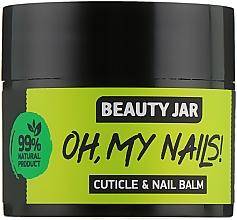 "Parfüm, Parfüméria, kozmetikum Köröm és kutikula balzsam ""Oh My Nails!"" - Beauty Jar Cuticle&Nail Balm"