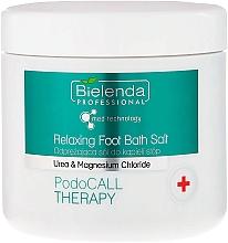 Parfüm, Parfüméria, kozmetikum Láb bőr sófürdő - Bielenda PodoCall Therapy Relaxing Foot Bath Salt