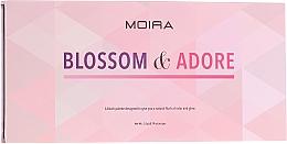 Parfüm, Parfüméria, kozmetikum Pirosító paletta - Moira Blossom & Adore Blush Palette