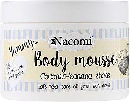 """Parfüm, Parfüméria, kozmetikum Testmousse""""Kókusz és banán"""" - Nacomi Body Mousse Coconut-Banana Shake"""
