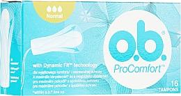 Parfüm, Parfüméria, kozmetikum Tampon, 16 db - o.b. ProComfort Normal Tampons