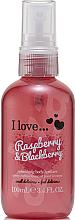 Parfüm, Parfüméria, kozmetikum Frissítő testspray - I Love... Raspberry & Blackberry